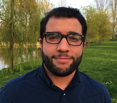 Yassine Karimi, Student Assistant