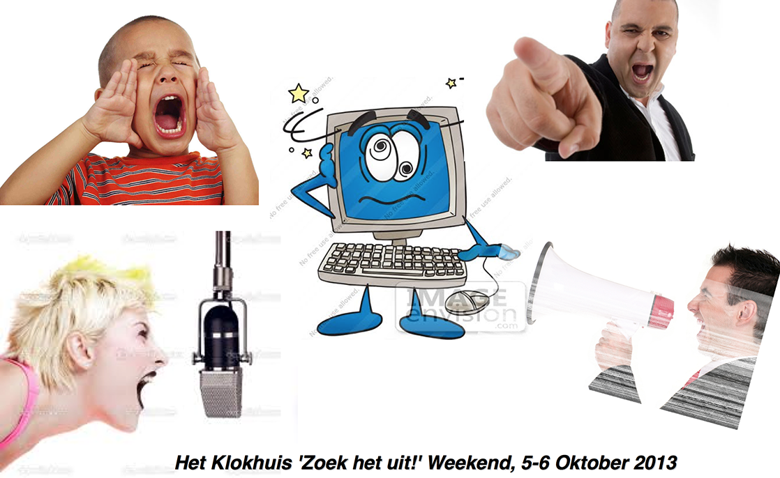 Het Klokhuis 'Zoek het uit!' Weekend, 5-6 Oktober 2013