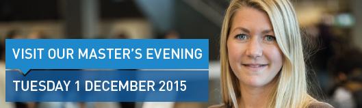 Master's Evening 1 december 2015